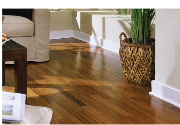 Brazilian Chestnut Cherry Flooring Scene